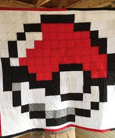 Great Pokemon quilt!