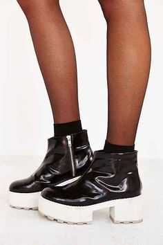 Cheap Monday Tractor High Chunky Boot - Urban Outfitters