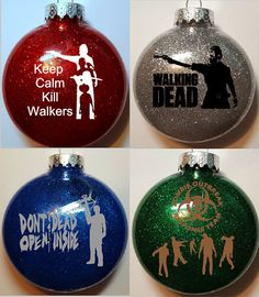This auction is for all 4 ornaments in this set. Please see other listing to purchase individual ornaments or get them all at a discount!  Are you