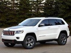 Ver foto 6 de Jeep Grand Cherokee Trailhawk Concept 2012