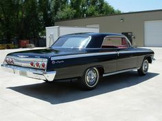 Vintage Cars Classic Chevy Impala◆ Maintenance of old vehicles: the material for new cogs/casters/gears/pads could be cast polyamide which I (Cast polyamide) can produce - Chevy Impala Ss, 64 Impala, Chevy Ss, Chevrolet Chevelle, Camaro Rs, Vintage Cars, Antique Cars, Vintage Auto, Gm Car
