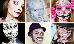 Incredible transformations by one amateur make up artist