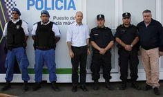 Nuevo puesto policial en De Vicenzo
