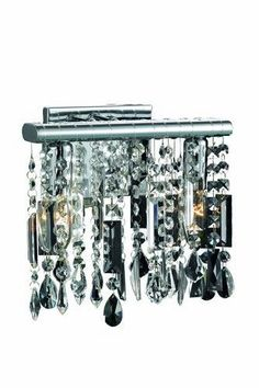 """3200 Harmony Collection Wall Lamp D: 10"""" H: 9.5"""" Lt: 2 Chrome (Royal Cut Crystal). 3200 Harmony Collection Wall Lamp D: 10"""" H: 9.5"""" Lt: 2 Chrome (Royal Cut Crystal)  Watts: Lumens: Lamp Type: Shape: Style:Contemporary Light Bulbs:2 Bulb Type:E12 Bulb Wattage:40 Max Wattage:80 Voltage:110V-125V Finish:Chrome Crystal Trim:Royal Cut Crystal Color:Crystal (Clear) Hanging Weight:3"""