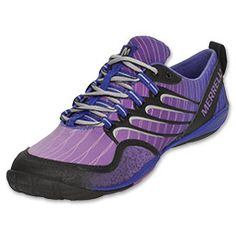 Merrell Women's Barefoot Lithe Glove Running Shoes | Finish Line | Cosmo Purple