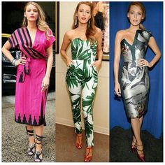Blake Lively​ in Malone Souliers' 'Veronica' on Mya_Gia's Instagram.  @blakelively #MyaGia  #MaloneSouliers #BlakeLively #Veronica