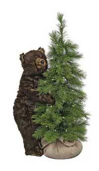 Scotch Pine Tree Bear, 42 In.