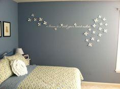 Wall Flowers / Décoration murale Fleur