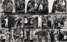 Tempera murale Opera, Painting, Art, Opera House, Painting Art, Paintings, Painted Canvas, Drawings