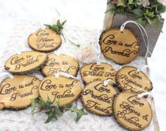 Corinthians Aisle Markers 'Love is Patient Love is