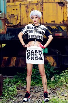 skirts with letter print - Google Search