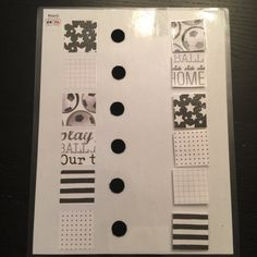 Pattern Match Activity black and white series by inteGREATions