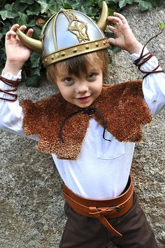 Viking costume. Awesome!