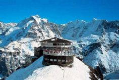 jungfrauoch the top of europe in switzerland. jungfrau meaning virgin. amazing views from panoramic restaurant! Oh The Places You'll Go, Places To Travel, Travel Destinations, Places To Visit, Jungfraujoch, Swiss Alps, Swiss Ski, Swiss Travel, Travel And Tourism
