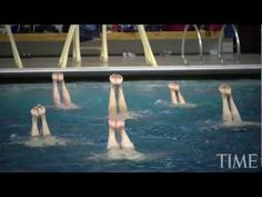 My girls would appreciate this: How They Train: Synchronized Swimming with Sean Gregory - YouTube