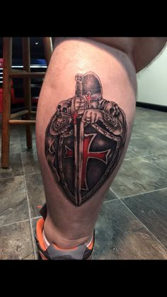 My crusader tattoo. By nick faul
