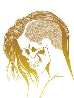 Skull Girls 2 by Gerrel Saunders, via Behance