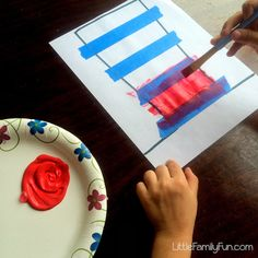 Little Family Fun: Easy Dr. Seuss Craft!