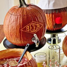 Etching is pumpkin carving made easy. The process, which uses a linoleum cutter, makes sophisticated designs simple, even if you're a beginner.