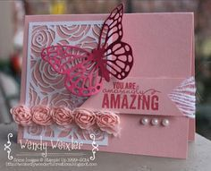 Beautiful    NEW Butterfly thinlits and Artisan Embellishments Collection.   Get these and earn Sale-a-brations rewards. January 6.