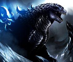 Godzilla by TheRisingSoul.deviantart.com on @deviantART