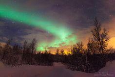 Northern Lights - Lyngen Alps