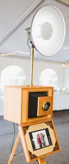 """Hey 2018 brides! Is a vintage wedding what you had in mind for your special day? Rent our open air bellows booth for your guests to enjoy, and capture the day in a fun vintage way! We also have a classic photobooth and our beloved """"Ruby"""", a vintage VW bus! #bellows #bellowsbooth #newhampshire #maine #massechusetts #vermont #wedding #vintage #VWbus #photobooth #photoboothplanetnh #bride #2018 #trending #weddingplanners #eventcoordinators"""