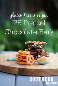 This Peanut Butter Pretzel Chocolate Bark Recipe is perfect for just about every chocolate lover as it is gluten free, vegan, sugar free AND so easy to make! The perfect treat for Valentines Day or anytime you feel like a chocolate treat!
