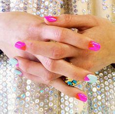 Nail nailed it Nail love Nails. Mani Pedi, Manicure And Pedicure, Love Nails, Pretty Nails, Perfect Cat Eye, Super Cute Nails, Cute Nail Art Designs, Creative Nails, Pink Lips