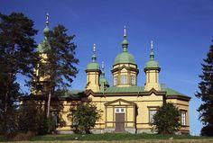 Profeetta Eliaan muistolle pyhitetty Ilomantsin ortodoksinen kirkko. Kuva: MV/RHO 124603:175 Soile Tirilä 2006