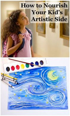 Kids are never too young to start appreciating art! Tips on how to introduce your little Picassos to the art world at any age: http://www.parents.com/fun/activities/indoor/introduce-art-to-kids/?socsrc=pmmpin130128ffKidsArt