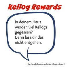 USA billig aber gut leben: Kellog Rewards