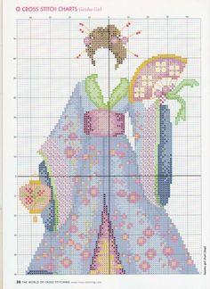 Gallery.ru / Фото #6 - The world of cross stitching 076 октябрь 2003 - WhiteAngel