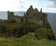 Dunluce Castle, Northern Ireland. Anna & I stopped here after leaving the Giant's Causeway. Beautiful views!