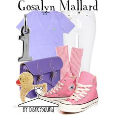 """Gosalyn Mallard"" by lalakay on Polyvore"