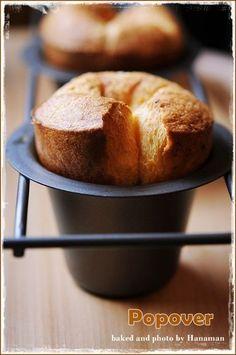 안녕하세요 오늘은 신기하고도 재미난, 맛난 빵 하나 소개할께요 이름은 팝오버! 왜 이렇게 불리냐 하면 팝... Breakfast Bake, Coffee Recipes, Food Plating, Food And Drink, Cooking Recipes, Bread, Cookies, Sweet, Desserts
