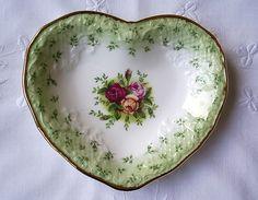 Royal Albert Jam Dish   Heirloom Vintage Tableware