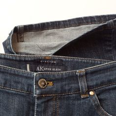Anne Klein Stretch Bootcut Petite Jeans Anne Klein Bootcut Stretch Petite Jeans. Excellent Condition. Flat waist measurement 16 inches. Inseam: 28.5 inches. Cotton/Lycra Blend. Anne Klein Jeans Boot Cut
