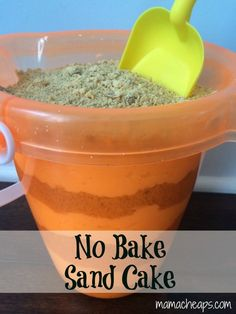 summer sand cake bucket shovel recipe b - title