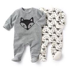 La Redoute R Essentiel Baby Boys Pack Of 2 Velour Sleepsuits With Feet Cute Baby Boy, My Baby Girl, Baby Love, Cute Babies, Baby Kids, Little Boy Fashion, Baby Boy Fashion, Kids Fashion, Baby Outfits