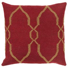 """I pinned this Isabelle 20"""" Pillow from the Colors of Christmas event at Joss and Main!"""