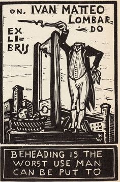 Confessions of a Bookplate Junkie r. Lombardo's plate  ( below) was designed by Remo Wolf