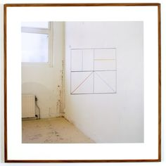 "Jan Dibbets Perspective Collection, ""Sol Lewitt"" 2004 color photograph 61 1/4 x 60 1/2 inches (155.6 x 153.7 cm) framed"