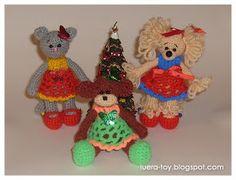 Шкафчик с игрушками ♡ Luera TOY: Трое, не считая ёлки:)