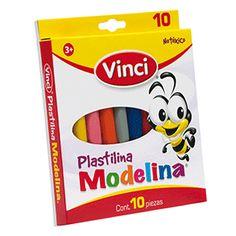 PLASTILINA PARA MOLDEAR VINCI COLORES SURTIDOS C10