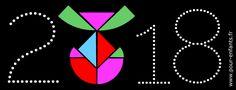 paques 2018 date coloriage dessin à imprimer tangram d'oeuf de Pâques