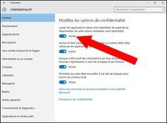 Windows 10 laisse les applications piocher généreusement dans vos données personnelles. Voici 5 réglages à appliquer pour préserver votre confidentialité.