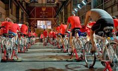 Science on TV: it's not dumb, but it could be smarter. Science broadcasting would be greatly improved by involving viewers in the experimental process. Photo: cyclists make a human power station Peak Oil, Citizen Science, Energy Use, Problem Solving, Climate Change, Dumb And Dumber, Biology, Army, Cyclists