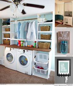 ideas para el cuarto de lavados