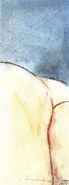 """""""Eros 4b"""" - Aquarela. Projeto """"Delta Z"""". Setembro 2004. Arte Erótica."""